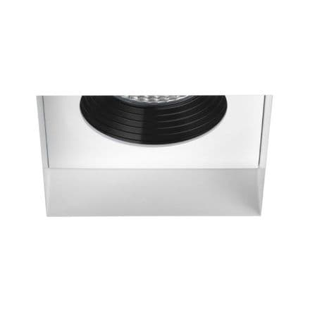 Astro 1248012 Trimless Square Fire-Rated LED Matt White